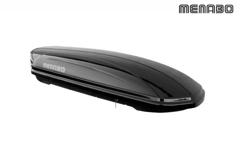 Menabo krovna kutija Mania Duo ME0356 580L crna metalik -