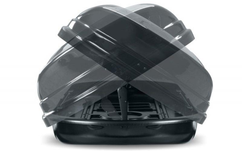 Menabo krovna kutija Mania Duo ME0354 460L crna metalik -