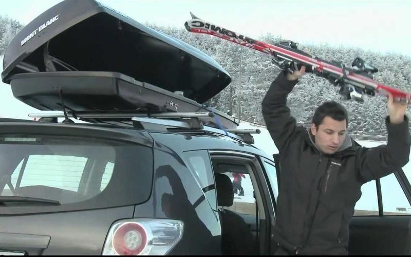 Mont Blanc krovna kutija Triton 450 731856 390L -