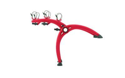 Saris nosač za bicikle za stražnja vrata Bones 3 crvena MOCS0084-1